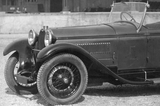 Project of Bugatti Type 49