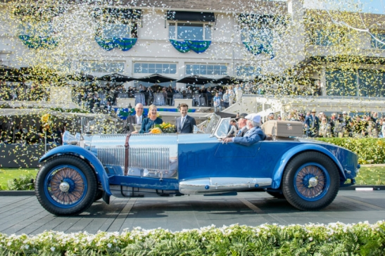 Pebble Beach Concours d´Elegance 2017 - Results