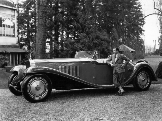 Jean Bugatti and his Royale chassis #41111