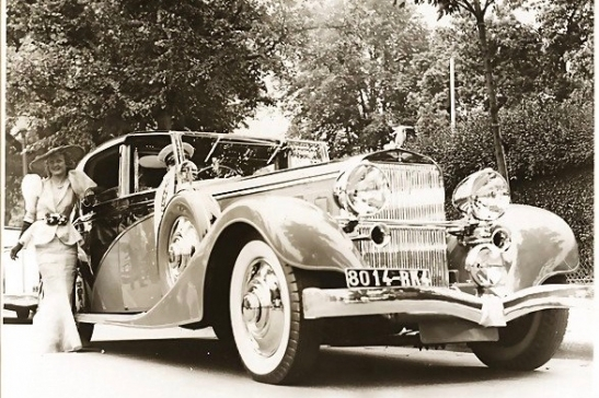 1934 Hispano-Suiza K6 Coupé de Ville by Franay