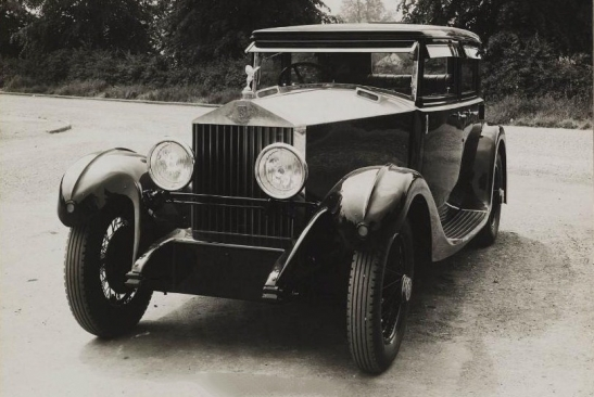 1930 Rolls-Royce 20/25 Sports Saloon by Arthur Mulliner