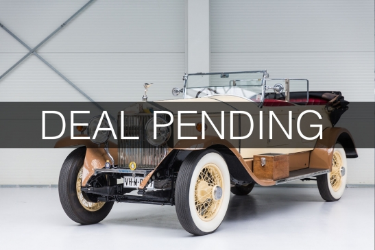 1926 Rolls-Royce Phantom I Open Tourer by Hooper