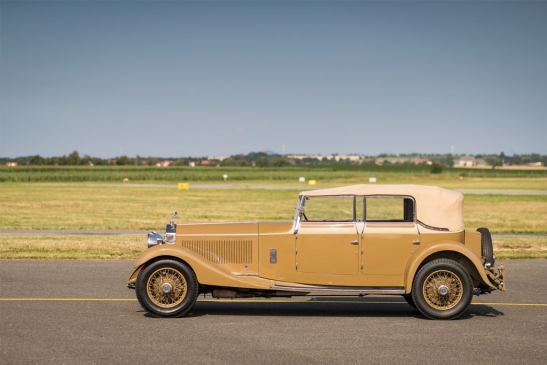 1930 Rolls-Royce Phantom II All-Weather Cabriolet by T. H. Gill & Son
